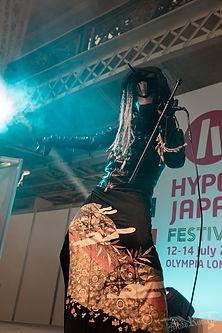 Lee Loi IJEN KAI Live at Hyper Japan in London