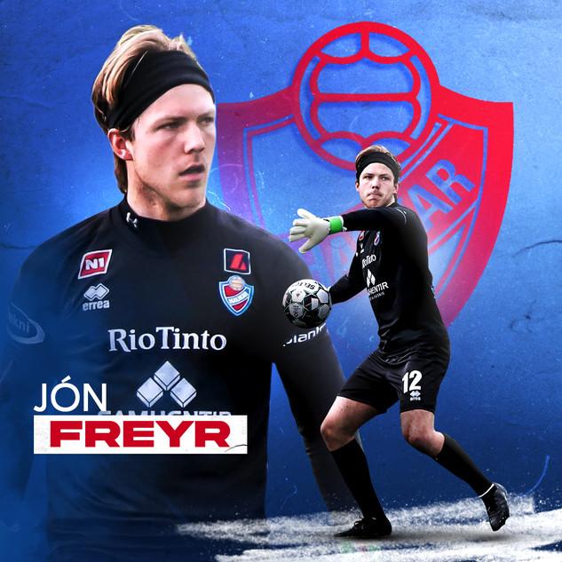 Jón Freyr Eyþórsson