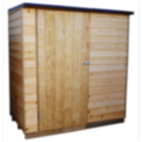 Lean-To Ruahine wooden garden shed
