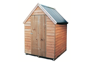 Wooden Chalet Roof Garden Shed