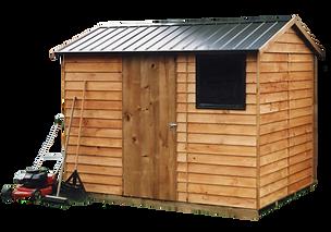 Wooden cragieburn garden shed