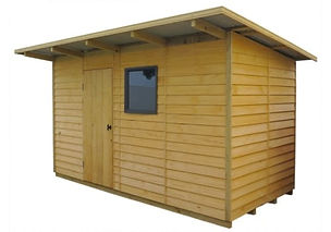 Wooden Taupo garden shed