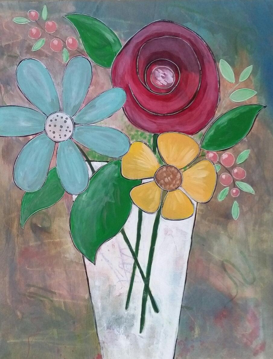 Flowers Painting Workshop-4/19/20