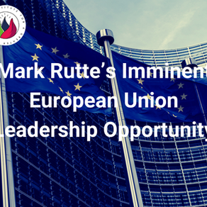 Mark Rutte's imminent European Union leadership opportunity