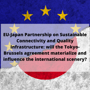 EU-Japan Partnership on Sustainable Connectivity and Quality Infrastructure : its influence?