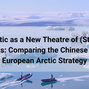 The Arctic as a new theatre of (strategic) interests: comparing the Chinese and the European Arctic