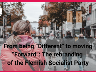"From being ""Different"" to moving ""Forward"": The rebranding of the Flemish Socialist Party"