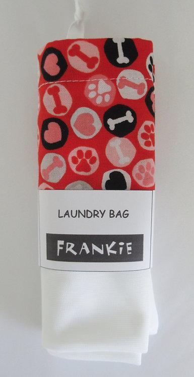 Laundry Bag Doggy Paw n Bone