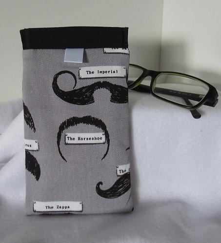 Glass Pouch Moustache