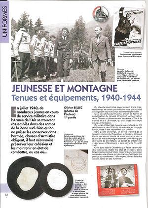 (158) Jeunesse et Montagne 1940 - 1944,