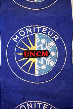 (100 ) Insigne Moniteur UNCM, collectrio