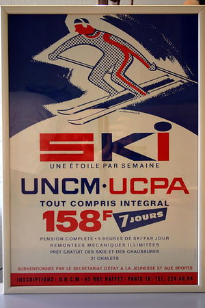 (97) Ski, UNCM UCPA, collection Raymond