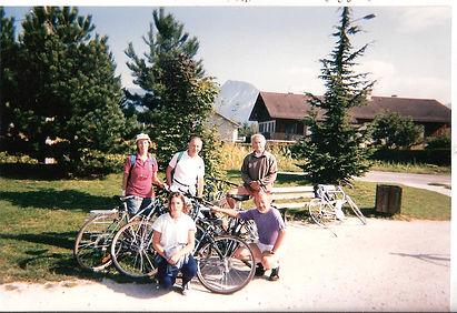 Sevrier 2 sept 1995  Marion Dom Alain JC