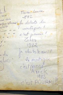 15 Ecrit 1982, coll. Raymond Gired.JPG