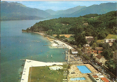 (134)1967 7 Annecy Les Marquisats, colle