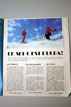 (124) Le ski c'est l'UCPA, collection Ra