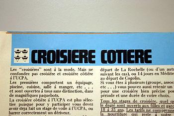 (133) Croisière côtière, collection Raym