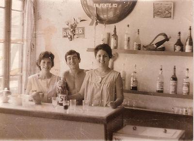 Bar Sylvie,1964-1965, coll. JP Charriere