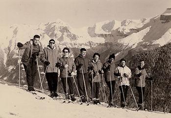 Photo_JPCh_4,_cours_de_ski,_janvier_1962