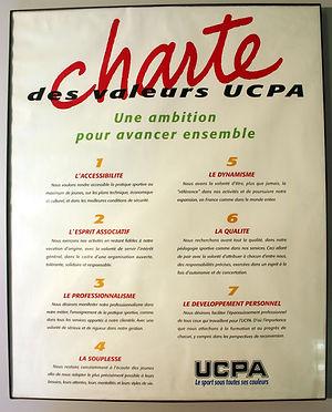 (98) Chartre des valeurs de l'UCPA, coll