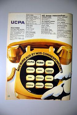 (152) UCPA Allo !, collection Raymond Gi