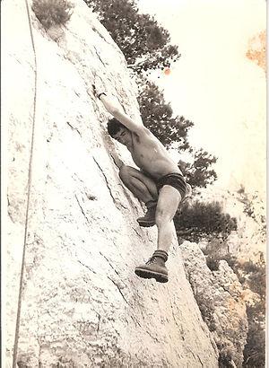JP Cha, Sormiou, escalade Calanques, 196