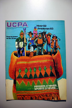 44 Affiche UCPA Hiver 82-83, coll. Raymo