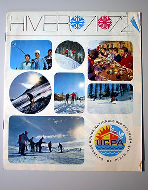 (120) UCPA Hiver 71 - 72, collection Ray