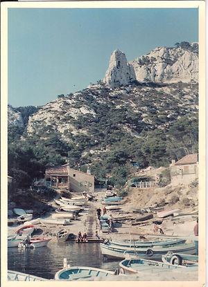 Sormiou, Le Port, l'Aiguille, 1967, coll