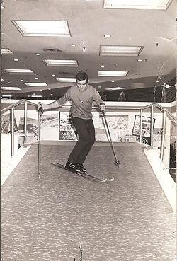 JP Cha, Galeries Lafayettes, déc 1969, J
