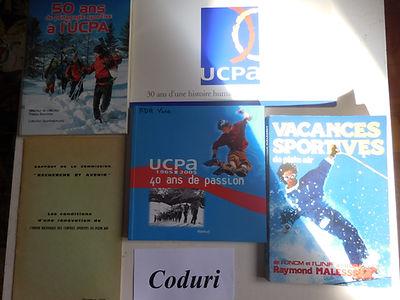 1 Livres sur l'UCPA Collection Alain Cod