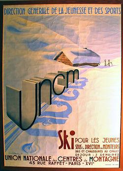(162) UNCM, ski, collection Raymond Gire