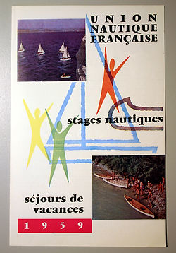 (114I) UNF stgages nautiques 1959, colle