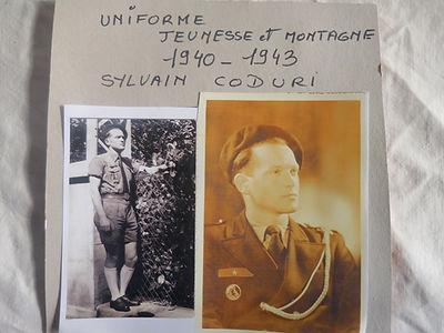(1) Unforme jeunesse et  montagne, 1940