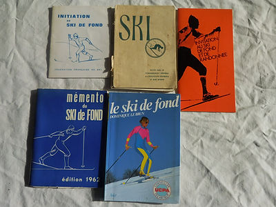 (97) Livres sur le  Ski et ski de fond,