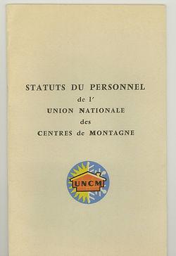 49 Statuts du personnel UNCM 1963, coll.