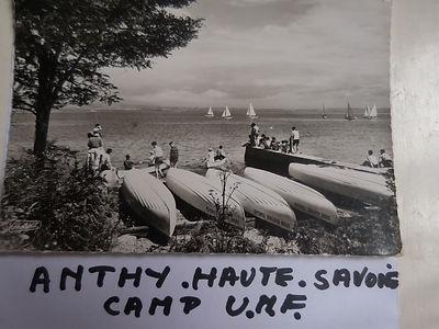 (102) Anthy, Haute Savoie, Camp UNF, col