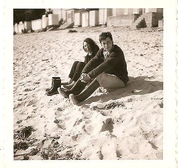 (103)1960 4 UNF Benodet - plage, Jeannet