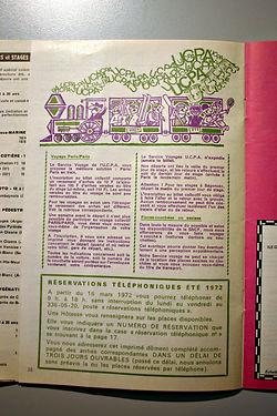 31Ecrit__réservation_Eté_1972,_coll._Ray
