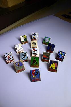 (154) Insignes, collection  Raymond  Gir
