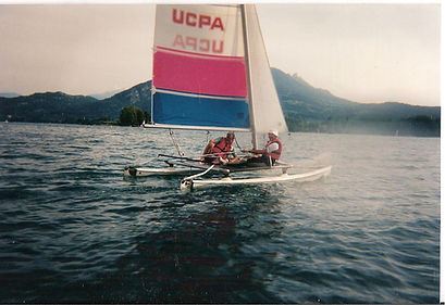 (11) Lac Annecy 2 sept 1995 Guichemer Ma