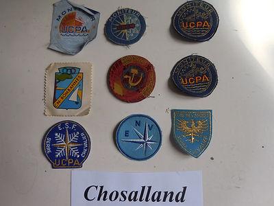 3 Insignes Pierre Chosalland Collection