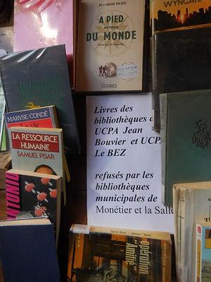 (90) Livres de coll UCPA Jean Bouvier et