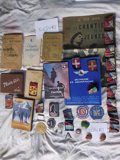 24 Livres Insignes COllection Alain Codu