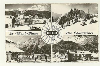('163) UNCM, Le Mont BLanc, Les Contamin