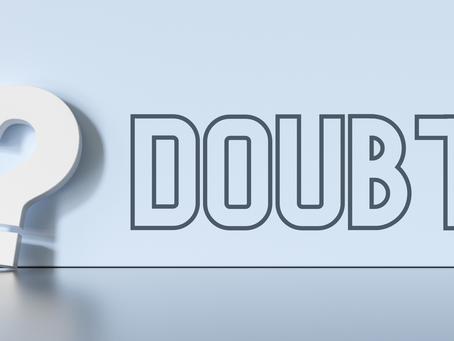Negotiate Doubt