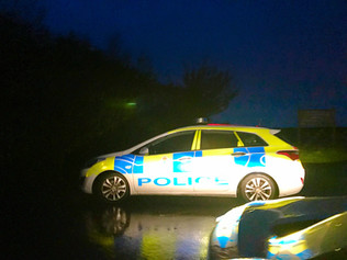 Police Incident at Lifeboat Road car park