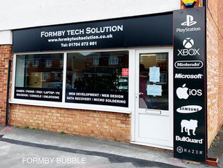 FTS (Formby Tech Solution) for all your IT, Phones, Laptop & PC repairs and sales in Formby