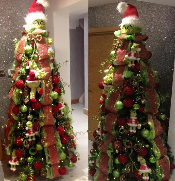 Christmas Grinch Decorations.Formby Family S Grinch Christmas Tree Is Facebook