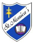 St Monica's Primary School paid tribute to former head Brian Mulroy.